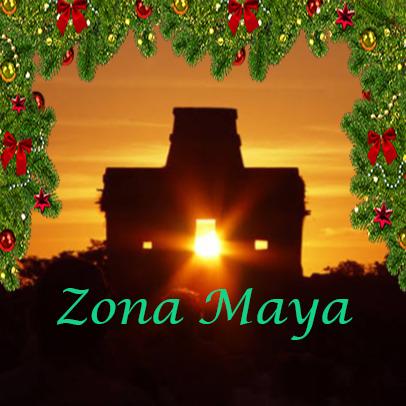 zona maya navidad